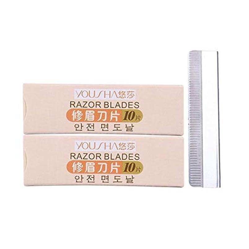 代表して副産物完全に乾くDavine 10ピース剃毛刃ステンレス剃毛刃