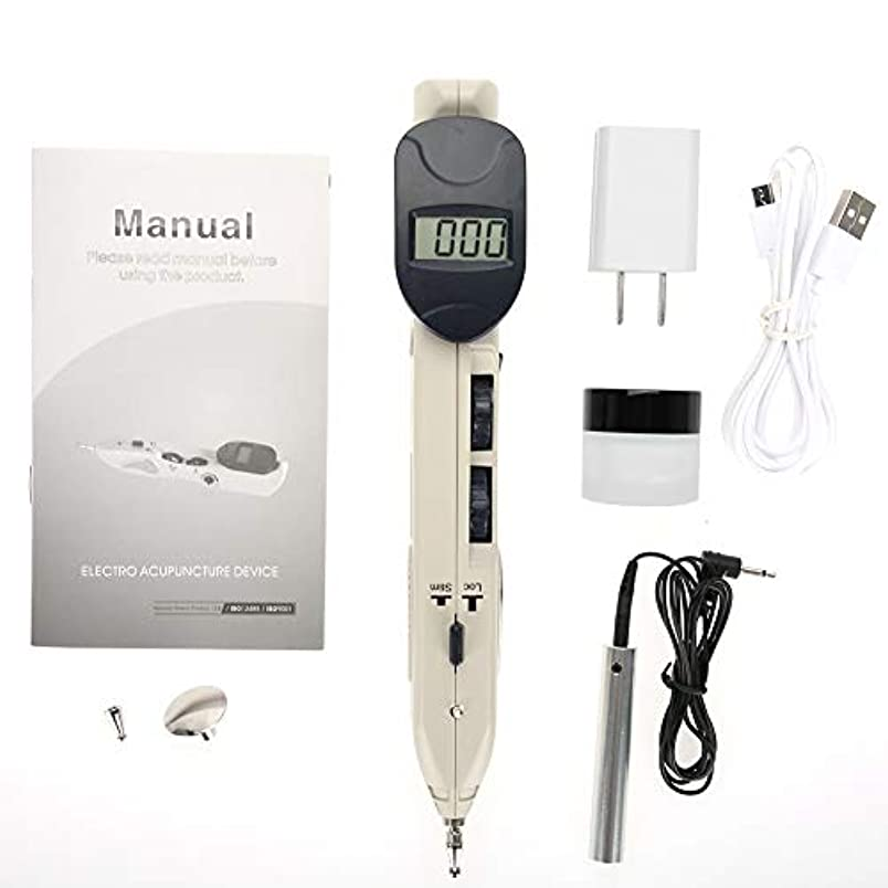 ツボ押し グッズ 電子鍼ペン 背中 腰 電子鍼治療装置 ヘルスケアペン