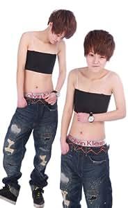 na-02 黒  胸つぶし ナベシャツ なべシャツ 3段フック式 シャツ ブラック Sサイズ