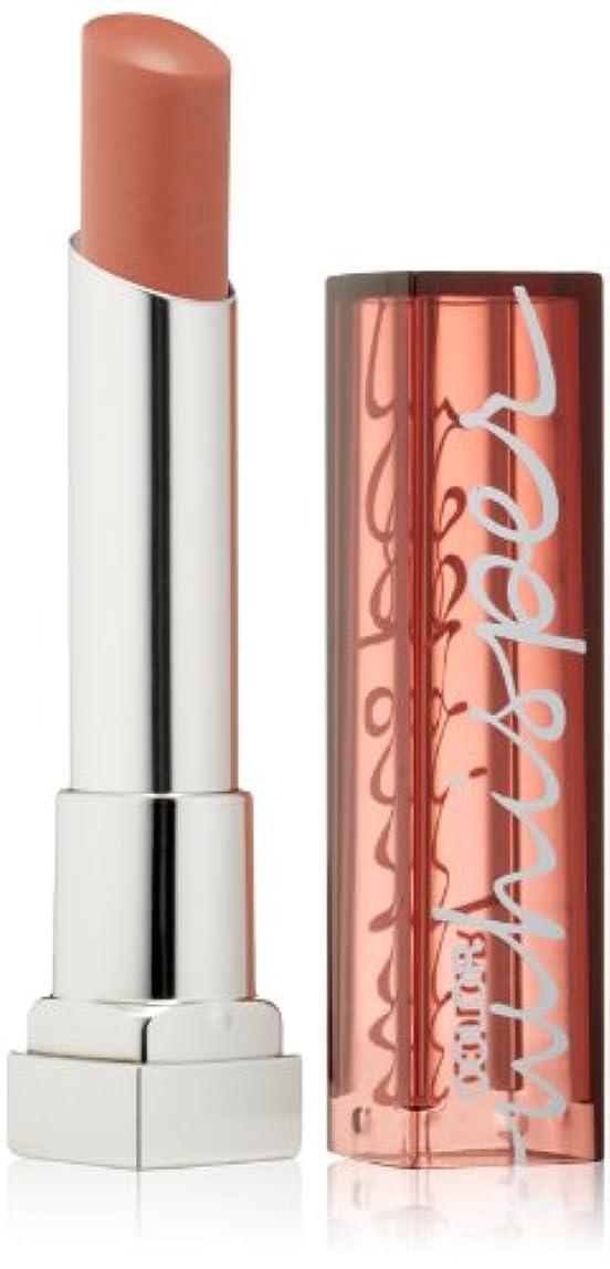 メイベリン Color Whisper Lipstick - # 20 Mocha Muse 3g/0.11oz並行輸入品