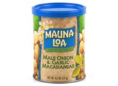 MAUNALOA(マウナロア) マカデミアナッツ マウイオニオン&ガーリック 4.5oz