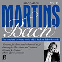 Joao Carlos Martins - Bach : The Complete Keyboard Works of J.S. Bach On Concord Concerto Vol.13 [IMPORT (USA)]