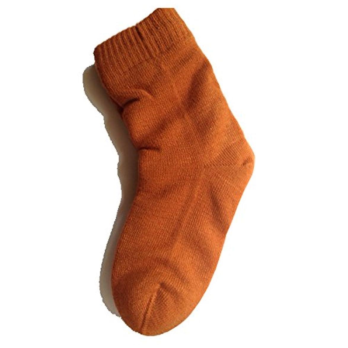 カブ医学カンガルー女性用 カサカサかかと解消靴下 ラブヒール パーシアンレッド 【遠赤外線パワー&温熱?保湿効果】