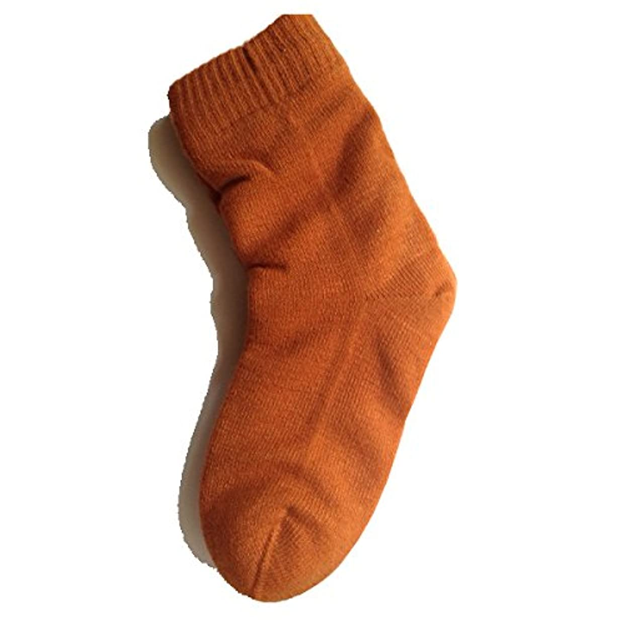 潜む規則性香り女性用 カサカサかかと解消靴下 ラブヒール パーシアンレッド 【遠赤外線パワー&温熱?保湿効果】