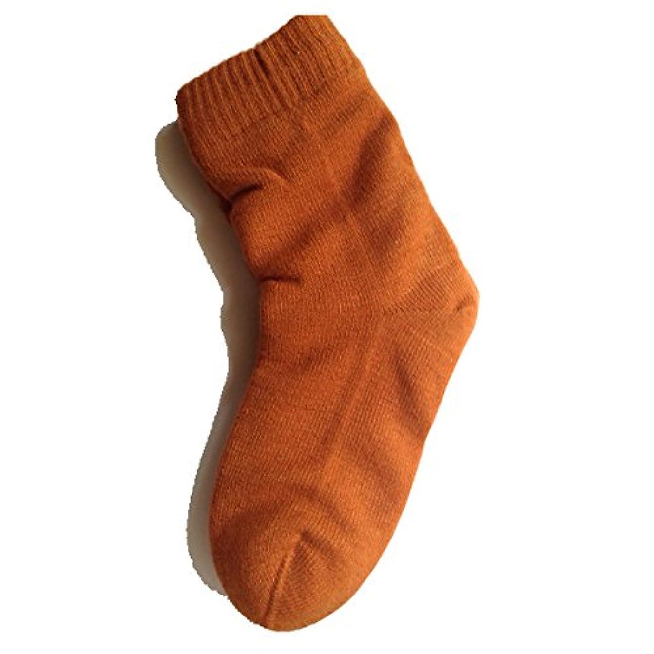 シャツリム最小女性用 カサカサかかと解消靴下 ラブヒール パーシアンレッド 【遠赤外線パワー&温熱?保湿効果】