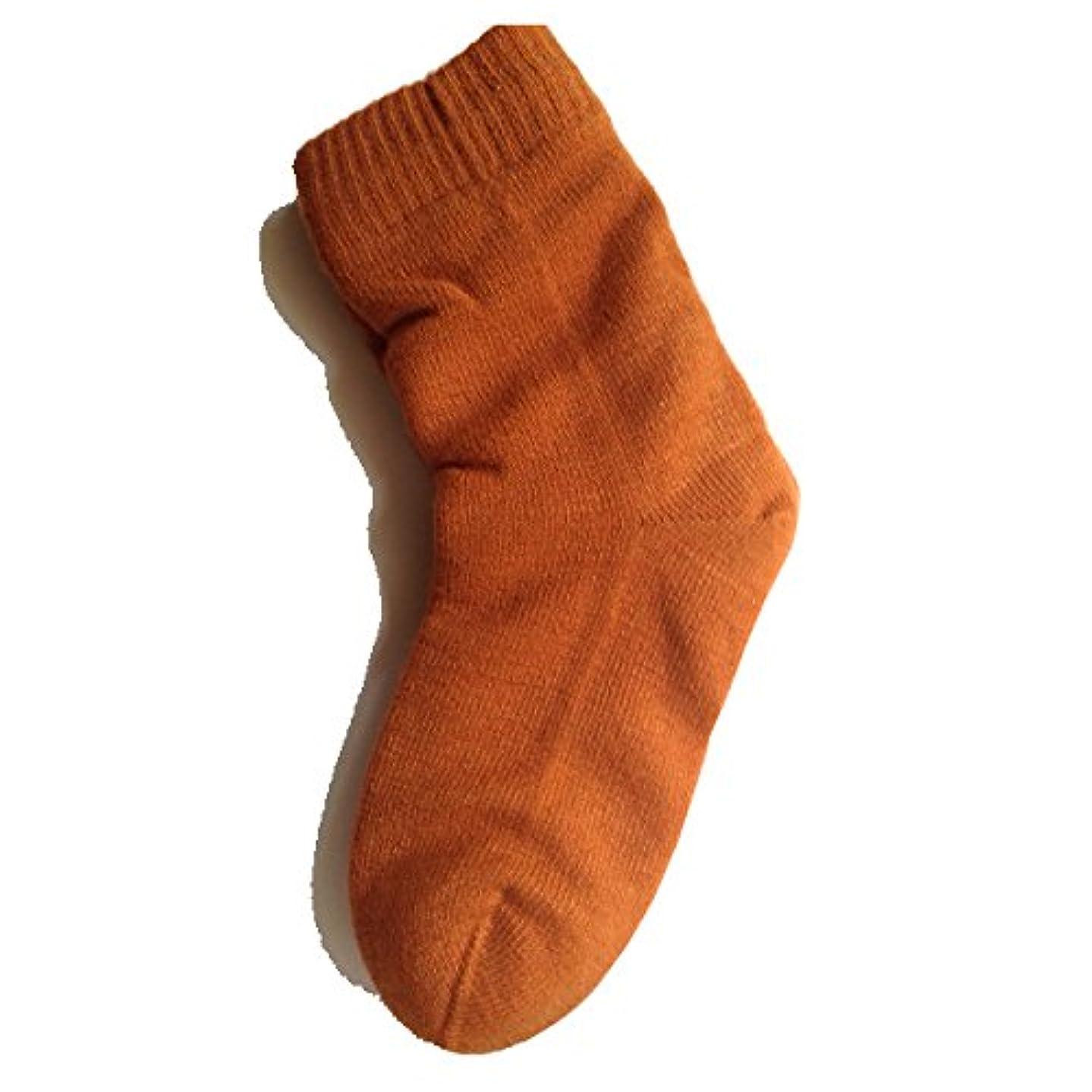 モンクバズ通り女性用 カサカサかかと解消靴下 ラブヒール パーシアンレッド 【遠赤外線パワー&温熱?保湿効果】