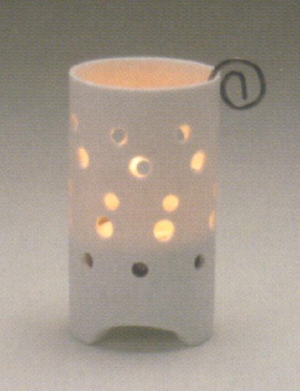 半球バトル半径ダスリンティーライトポット ポイント (キャンドルホルダー)