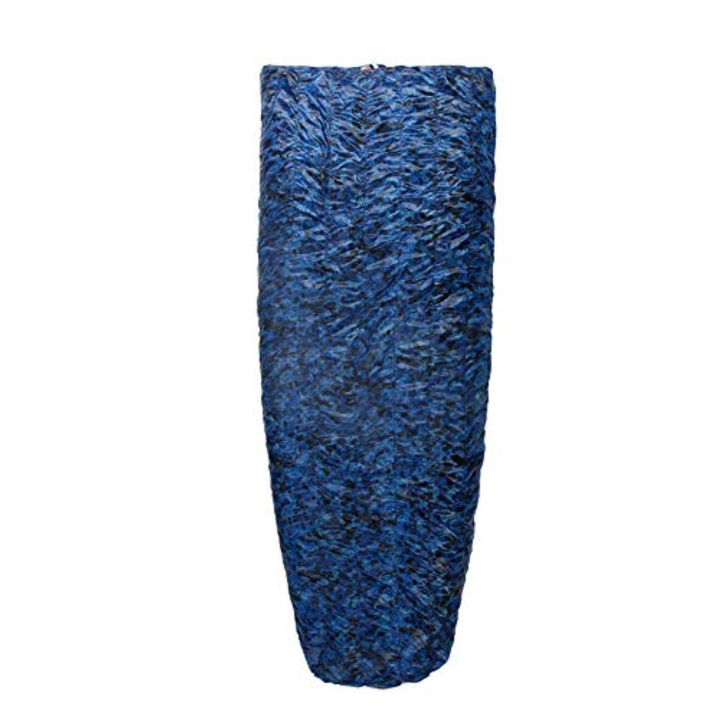 メモ外観中毒バッグ冬に暖かいワイルドキャンプスリーピングダウン寝袋ダウンサイドアヒルをステッチすることができます