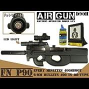 電動ガン FN P90 ドットサイト搭載 BB弾 エアガン D90H