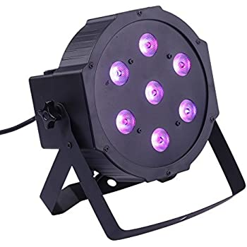 ANSELF DMX-512  4 In1 RGBW LED ステージライト スポットライト Par Light ディスコライト パーティー/ 舞台 / 演出 / 照明 / 70W AC 100-240V