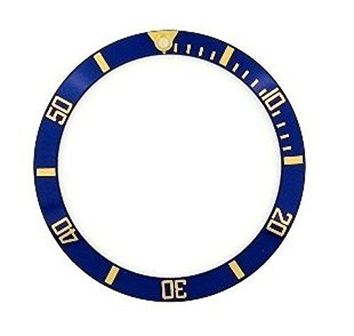 ROLEX ロレックス サブマリーナ 用 ベゼルディスク 社外品 16613,16803 ブルー/ゴールド
