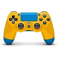 Medium Yellow and Blue Custom Painted DualShock 4 by ColorWare [並行輸入品]