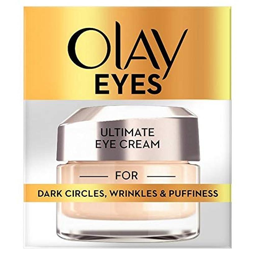 一杯比類のない瀬戸際[Olay] オーレイアイコレクション究極のクリーム15Ml - Olay Eye Collection Ultimate Cream 15ml [並行輸入品]