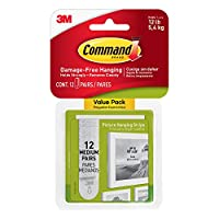 Command(TM) Picture Hanging Strips Value Pack 17204-12PK by Command