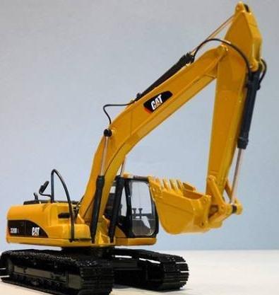 CAT 320DL★ 1:50ショベルカー★ 合金モデル 建設車両