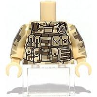 ACUカモトルソー LEGOカスタムパーツ アーミー 装備品 武器 カスタムフィグ