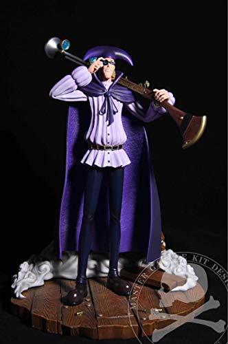 【】ワンピースフィギュア黒ひげ海賊団 ヴァン・オーガー 海外限定GKフィギュア