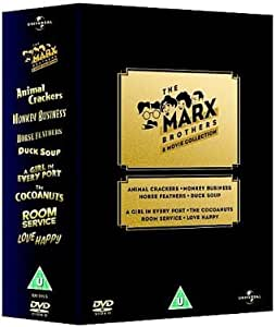 The Marx Brothers - 8 Movie Collection [Box Set] [Import anglais]