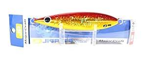 メジャークラフト ルアー メタルジグ ジグパラ バーチカル スローピッチ #03 レッドゴールドJPVSP-100