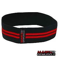 ヒップ円Resistance Bands for Exercise–FitnessループバンドforボディGlutes &脚Activation前Squats & Deadlifts–非スリップHeavy Duty Elastic forレディース&メンズ究極のBooty、太ももエクササイズ Small - HIGH Resistance - 13 inches