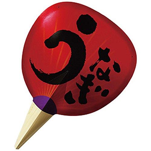 土用の丑装飾 紙製ジャンボうちわ うなぎ 90cm / 鰻 ウナギ 丑の日 飾り ディスプレイ  8988