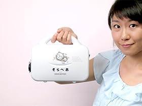 スゴイバッテリー Ver.2 そらべあバージョン / 小さい、でかい、スゴイ! 携帯電話70台分を充電可能な、75,000mAhの大容量モバイルバッテリー ~ 環境キャラクター「そらべあ」をデザインしたNPO法人エコロジーオンラインとのコラボバージョン。