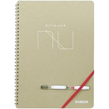 CANSAY ノート型ホワイトボード NUboard (A4変型)
