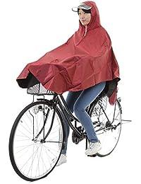 GOODS LUCK レインコート 自転車 レディース メンズ レインウェア レインポンチョ フリーサイズ 全3色