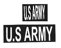 CarthageKing 特殊部隊ベルクロパッチシリーズ 大小セット (U.S.ARMY)