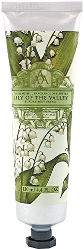 Aromas Artesanales De Antigua Floral Lily Of The Valley Luxury Body Cream 130ml
