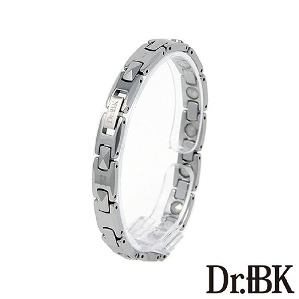 合金制約サーキットに行くDr.+BK ゲルマニウムブレスレットBT003TSW3 シルバー[女性] [Bracelet]