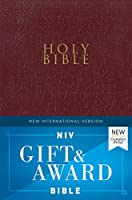 Holy Bible: New International Version, Burgundy, Leather-Look, Gift and Award