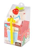 聖新陶芸 ちゅっぽん クリスマス スノーマン ワイルドストロベリー GD-58502
