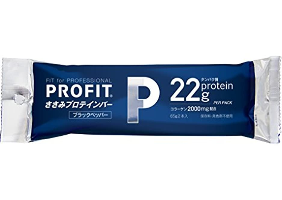 種コーナーオーナメント丸善 PROFIT SaSami (プロフィット) ささみプロテインバー ブラックペッパー 1箱(20袋入り)(40本入り)[ヘルスケア&ダイエット用商品]