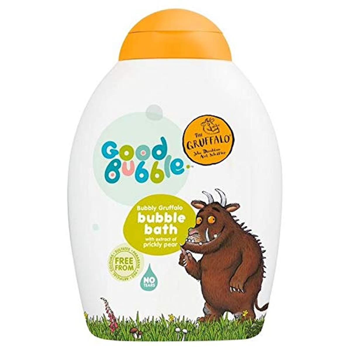 旅客音節と組む[Good Bubble ] ウチワサボテンエキス400ミリリットルとの良好なバブル快活Gruffaloの泡風呂 - Good Bubble Bubbly Gruffalo Bubble Bath with Prickly...