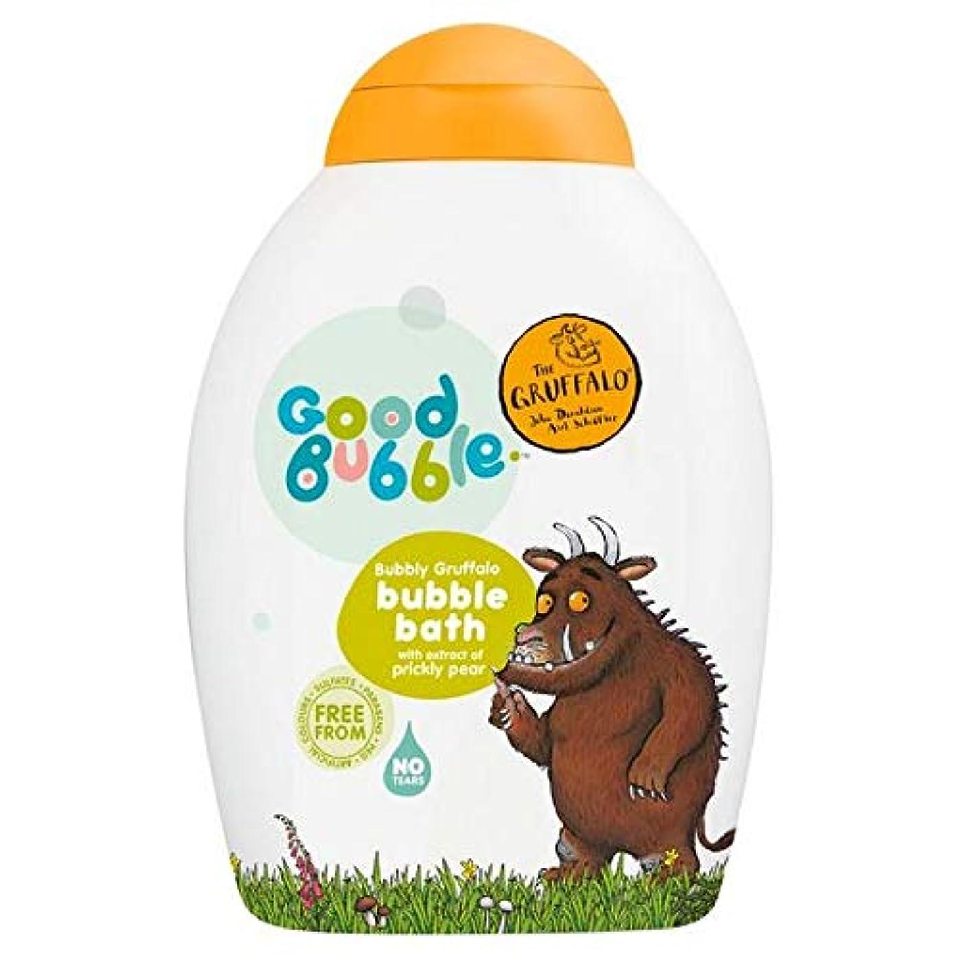慈悲柔らかい足常習者[Good Bubble ] ウチワサボテンエキス400ミリリットルとの良好なバブル快活Gruffaloの泡風呂 - Good Bubble Bubbly Gruffalo Bubble Bath with Prickly...