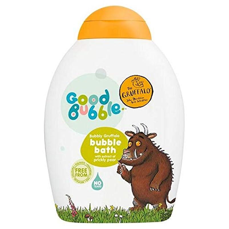 柔らかい足シャイ不幸[Good Bubble ] ウチワサボテンエキス400ミリリットルとの良好なバブル快活Gruffaloの泡風呂 - Good Bubble Bubbly Gruffalo Bubble Bath with Prickly...