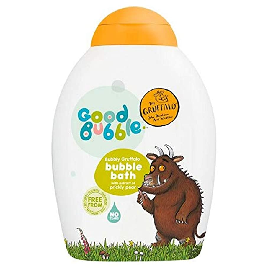 [Good Bubble ] ウチワサボテンエキス400ミリリットルとの良好なバブル快活Gruffaloの泡風呂 - Good Bubble Bubbly Gruffalo Bubble Bath with Prickly...