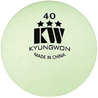 (KYUNGWON) キョウォン 卓球 ボール スリースター セルロイド 40mm 1ダース 12個入