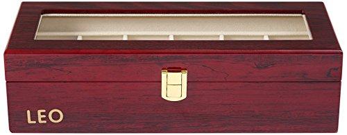 木製 腕時計収納 ボックス 6本用 コレクション ウォッチ収納ケース ディスプレイ ピアノラッカー