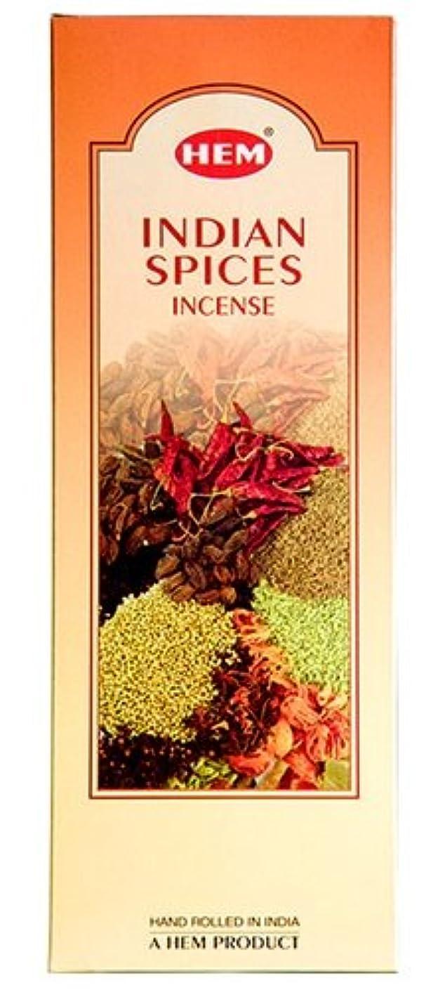 論理的に論理的に午後HEM(ヘム)社 インディアンスパイス香 スティック INDIANSPICES 6箱セット