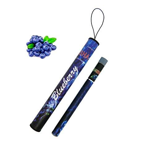 シーシャタイム SHISHA TIME 使い捨て電子タバコ (Blueberry ブルーベリー)