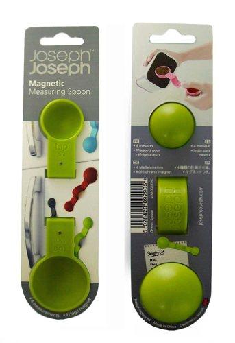 JosephJoseph(ジョセフジョセフ)『マグネット付計量スプーン(グリーン092905)』