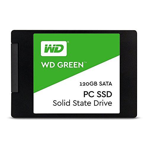 WD SSD 内蔵SSD 2.5インチ 120GB WD Green SATA3.0 6G / 3年保証 / WDS120G1G0A