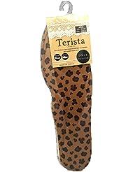 モリト テリスタ フラットフルインソール レオパード柄 女性用 22.0~25.0cm