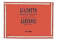Tomaso Albinoni/Remo Giazotto: Adagio In G Minor (Organ). For オルガン