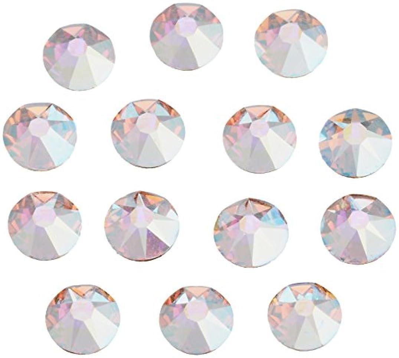 抵抗するブルジョンほぼネイルアートパーツ クリスタルAB SS12:3.0~3.2mm 240P