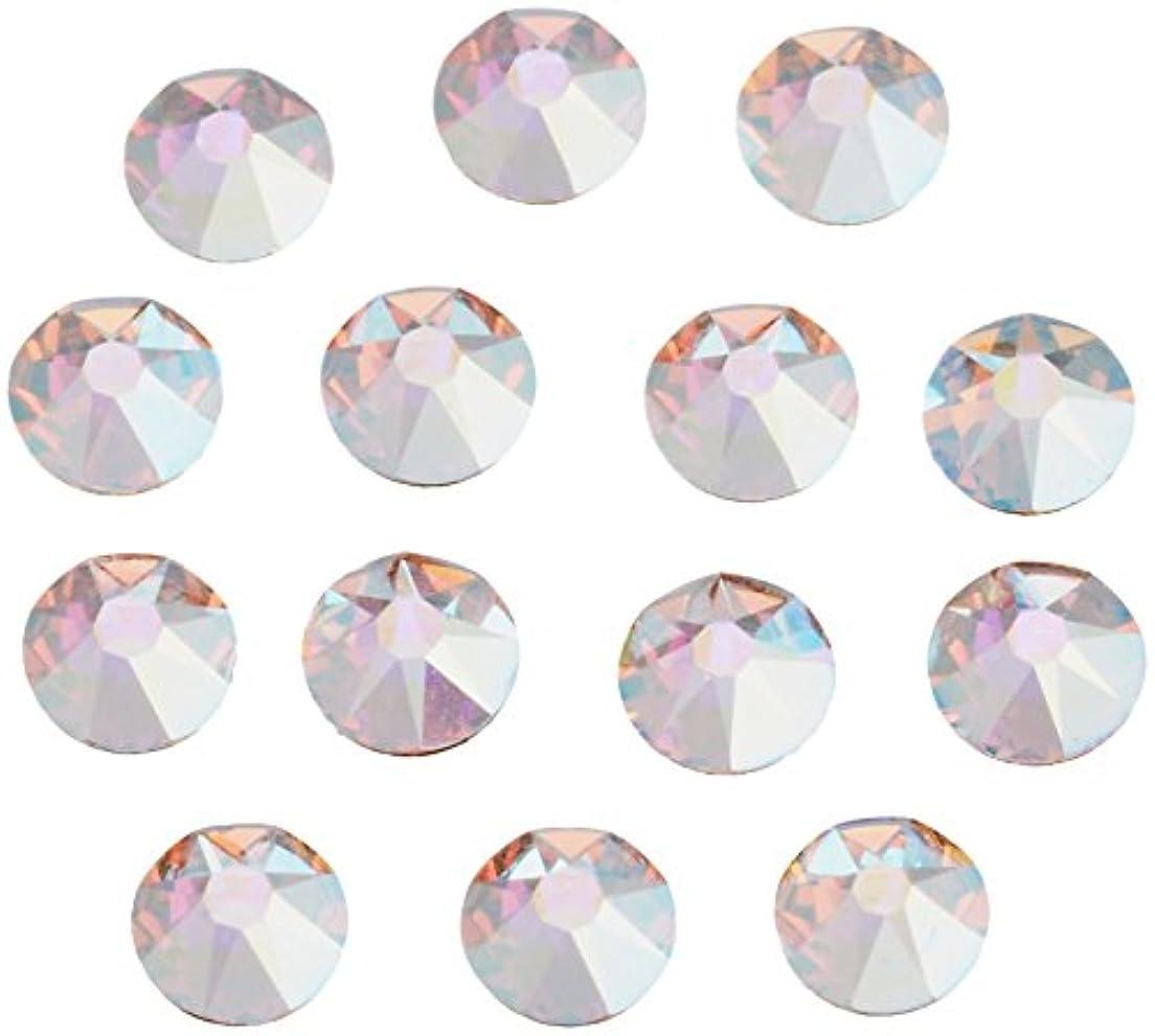 ホイッスルスチュワードガムネイルアートパーツ クリスタルAB SS12:3.0~3.2mm 240P