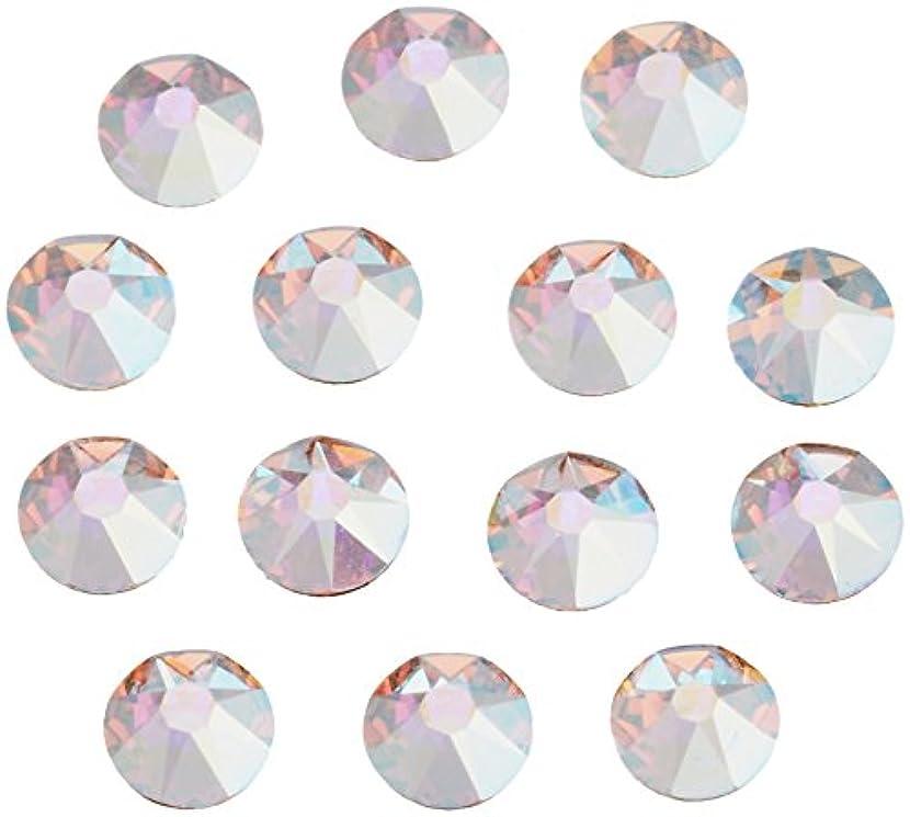 みなす知り合い強調ネイルアートパーツ クリスタルAB SS12:3.0~3.2mm 240P