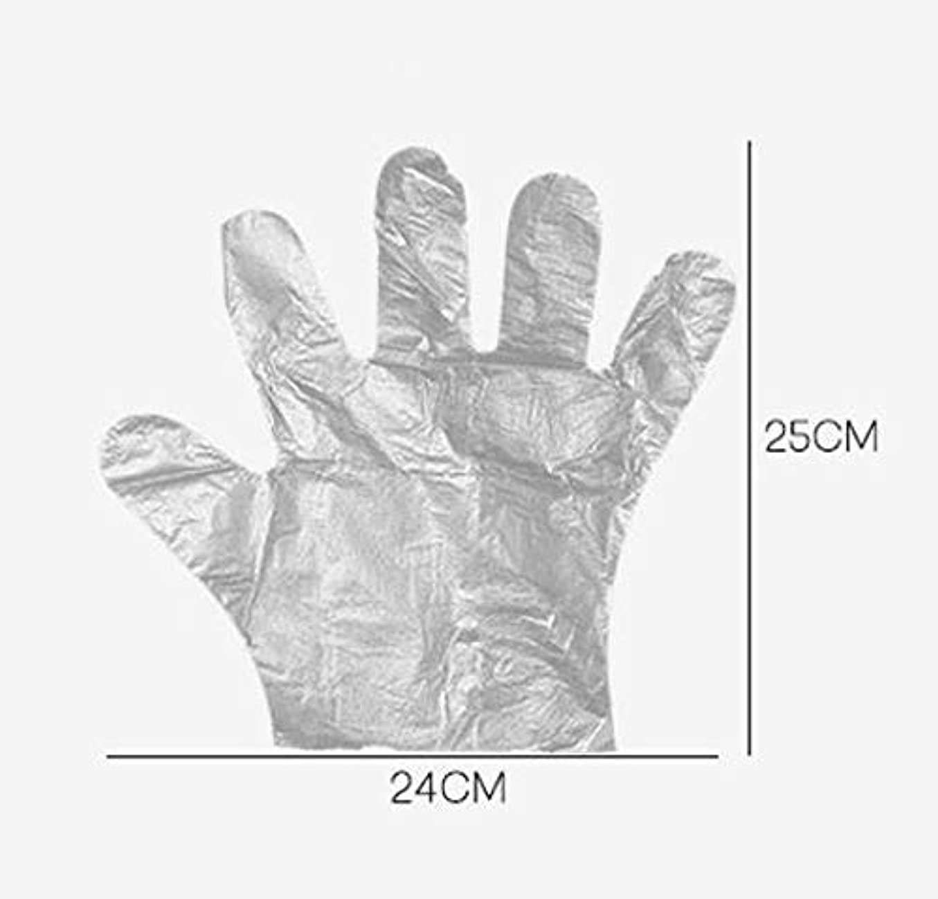 アソシエイト微視的防腐剤HJ 使い捨て手袋 ポリエチレン使い切り手袋 極薄い ポリ手袋 使い切り手袋 透明手袋 耐油 防水 介護 トイレ掃除 左右兼用 手荒れを防ぎ 素手 薄いタイプ (200ペアセット)